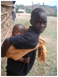 Helping AIDS orphaned children in Uganda