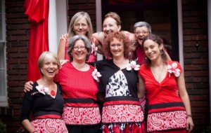 Women in Red changing the world