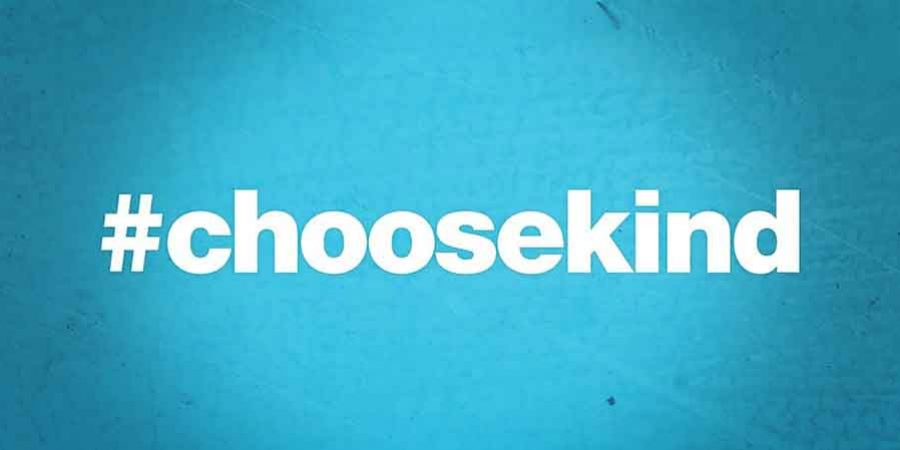 #choosekind in your school or workplace