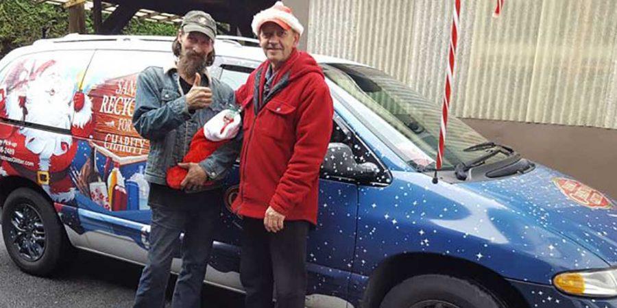 Hank's Christmas Glitter in Vancouver