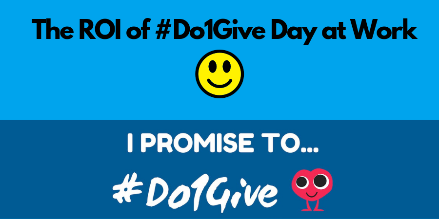 #Do1Give Day at Work