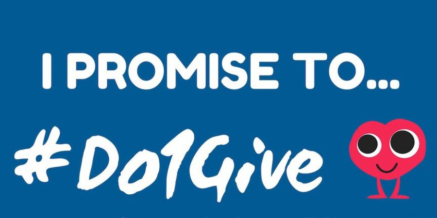 Make the #Do1Give Day Promise