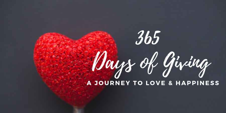 Personal Giving Story - 365give