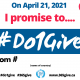 #Do1Give Day For Employees