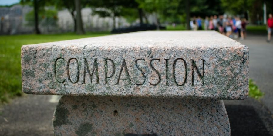 being compassionate increases happiness